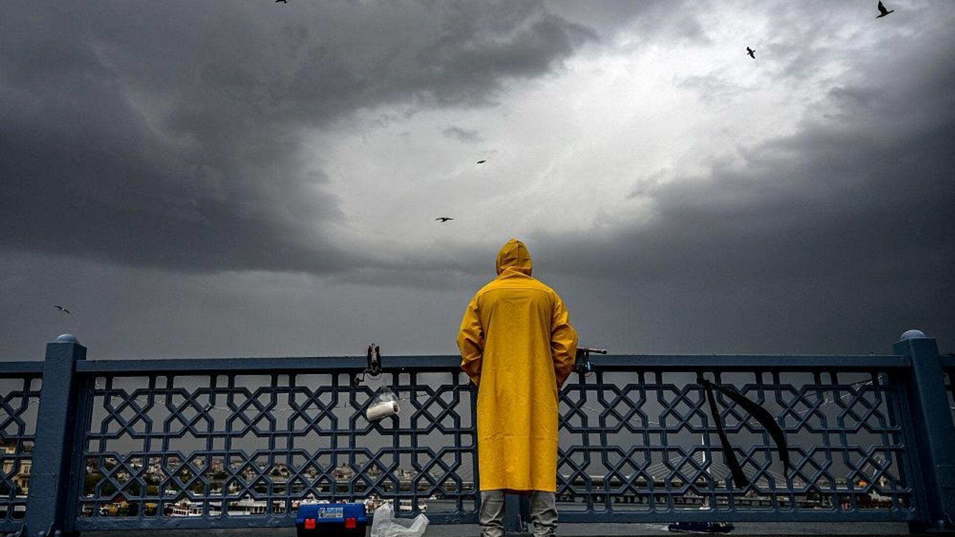 İstanbul, yağmur, yağmurlu hava, sağanak,  - Sputnik Türkiye, 1920, 04.07.2021