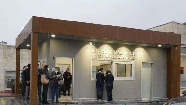 Akıllı COVID-19 Test Merkezi, İbni Sina Hastanesi  - Sputnik Türkiye