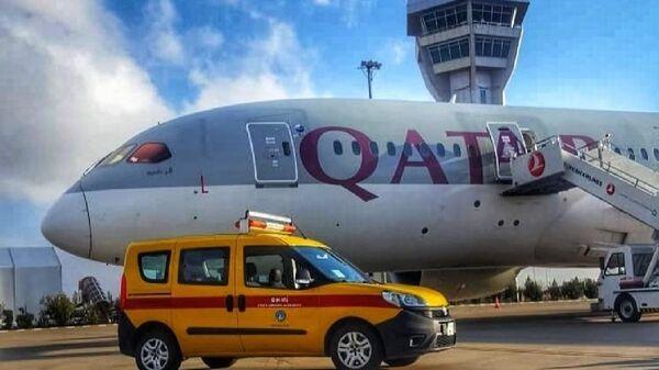 İngiltere-Katar seferini yapan uçak Şanlıurfa'ya acil iniş yaptı - Sputnik Türkiye