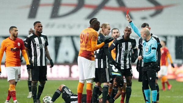 Süper Lig'in 19. haftasında oynanan derbide Beşiktaş Galatasaray'ı 2-0 yendi. - Sputnik Türkiye