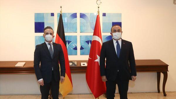Heiko Maas, Mevlüt Çavuşoğlu - Sputnik Türkiye