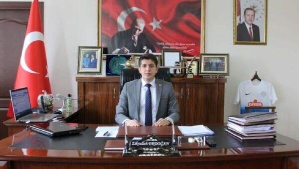 Uluborlu Kaymakamı Zikrullah Erdoğan - Sputnik Türkiye