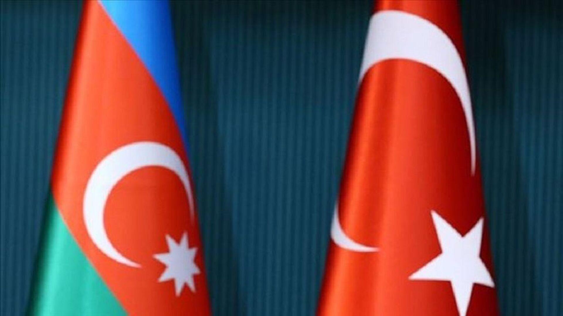 Azerbaycan, Türkiye, bayrak - Sputnik Türkiye, 1920, 22.04.2021