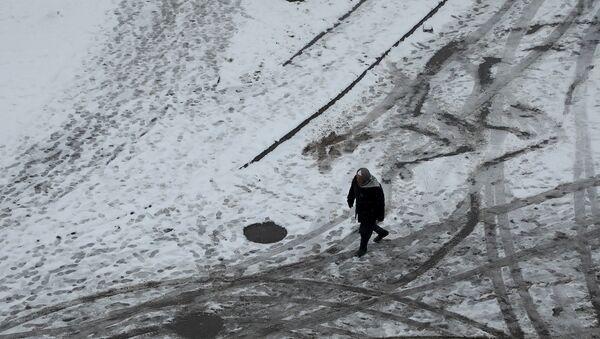 Diyarbakır - kar - Sputnik Türkiye