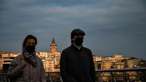 İstanbul, Galata Kulesi, koronavirüs - Sputnik Türkiye