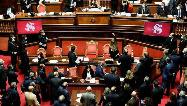 İtalya - parlamento - Sputnik Türkiye