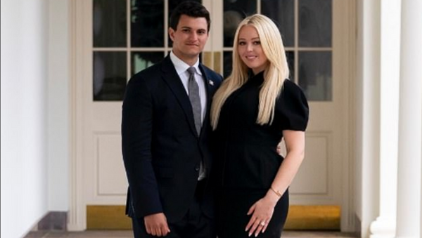 Trump'ın Beyaz Saray'daki son gününde kızı Tiffany nişanlandı - Sputnik Türkiye