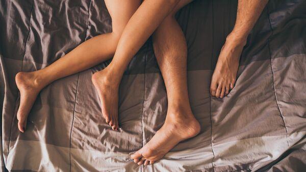 Temsili seks - yatak fotoğrafı - Sputnik Türkiye