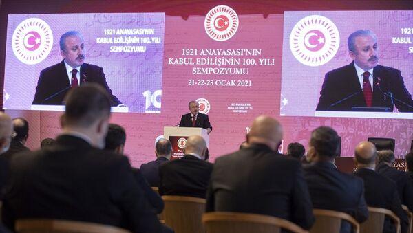 BMM Başkanı Mustafa Şentop - Sputnik Türkiye