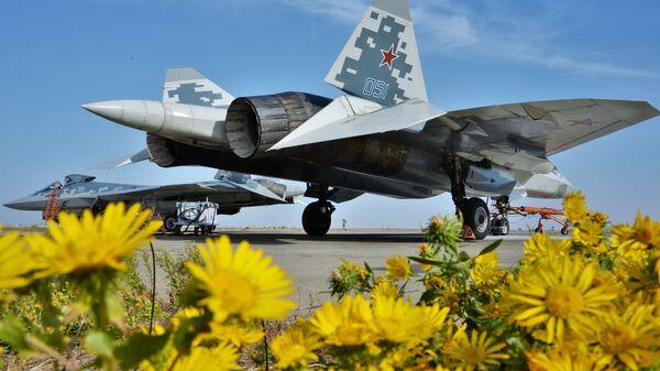 5. nesil Sukhoi Su-57 - Sputnik Türkiye