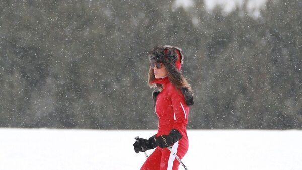 Seren Serengil, kayak tatili - Sputnik Türkiye