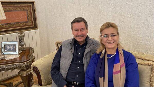 Melih Gökçek - Nevin Gökçek - Sputnik Türkiye