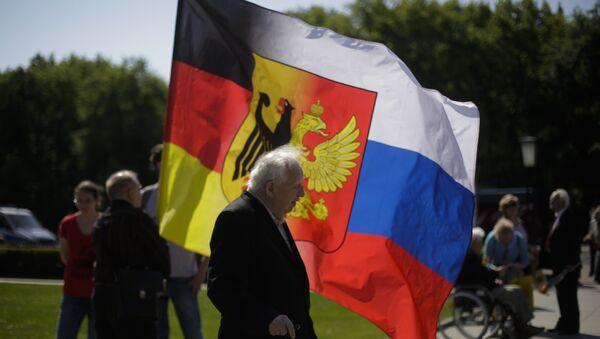 Almanya - Rusya - bayrak - Sputnik Türkiye