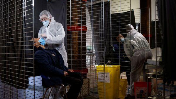 Fransa - koronavirüs - koronavirüs testi - Sputnik Türkiye