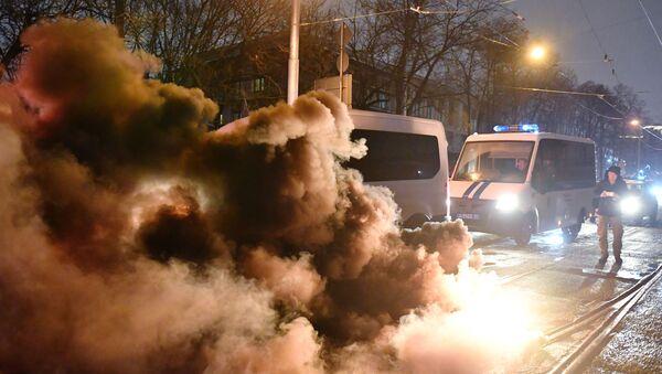 Rusya protesto - Sputnik Türkiye