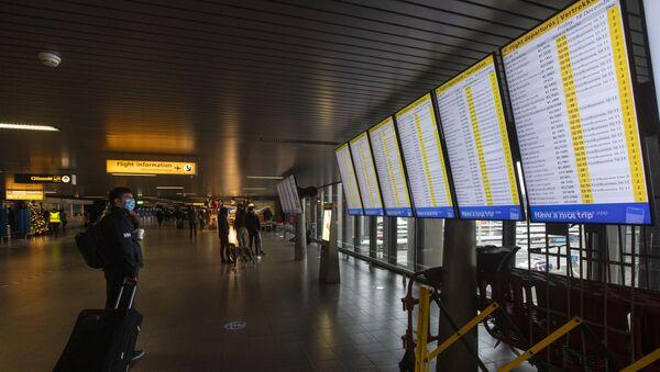 Schiphol Havalimanı - Sputnik Türkiye
