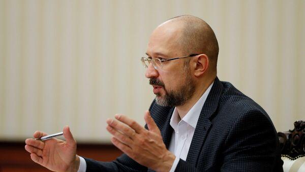 Ukrayna Başbakanı Denis Şmıgal - Sputnik Türkiye