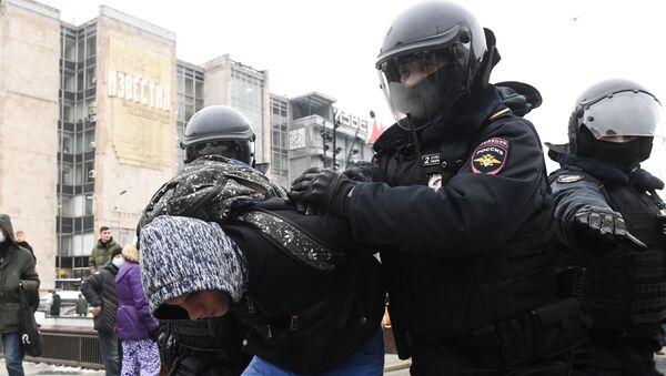 Rusya - Moskova - protesto - Sputnik Türkiye