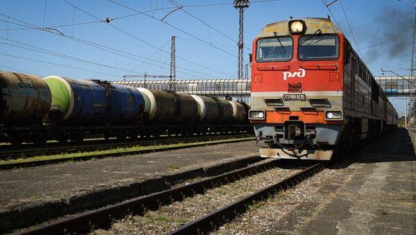 Abhazya - demiryolu - Sputnik Türkiye