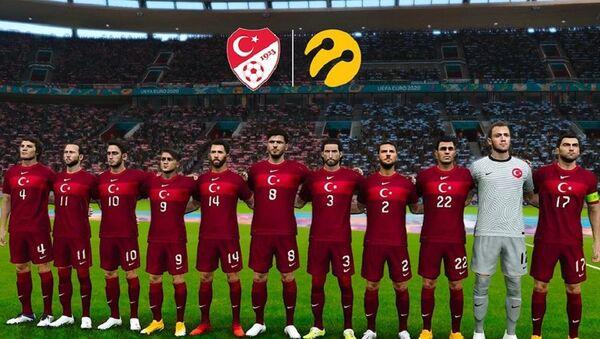 Turkcell sponsorluğunda e-Futbol Milli Takımı, PES - Sputnik Türkiye