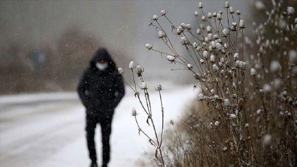 Kar yağışı, karlı hava,  - Sputnik Türkiye