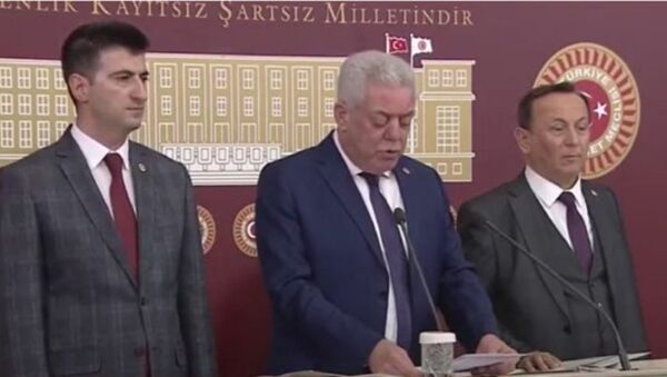 CHP'den istifa eden 3 milletvekili - Sputnik Türkiye