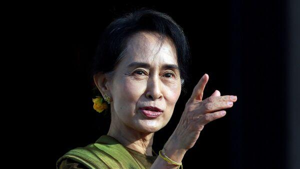 Myanmar lideri Aung San Suu Çii - Sputnik Türkiye