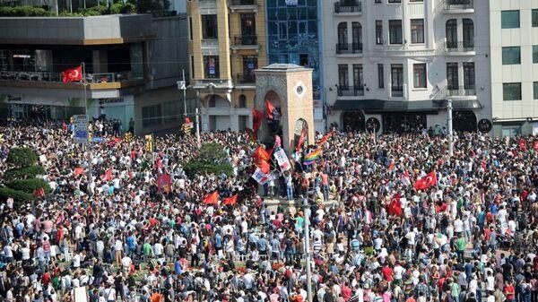 Gezi Parkı eylemleri - Sputnik Türkiye