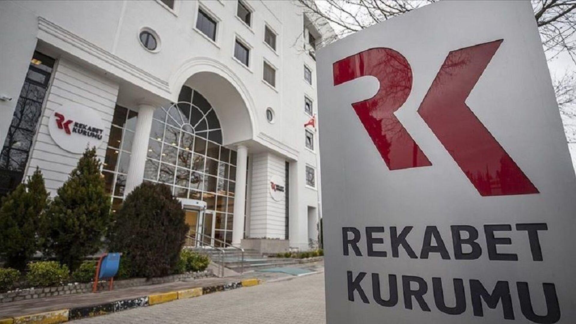 Rekabet Kurumu - Sputnik Türkiye, 1920, 27.09.2021