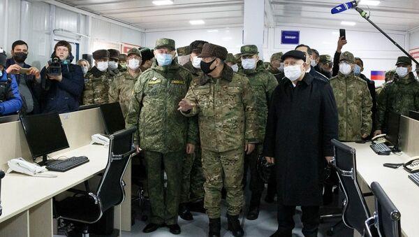 Ağdam'da faaliyete geçen Rus - Türk ateşkesi izleme merkezi - Sputnik Türkiye