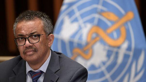 Dünya Sağlık Örgütünün (DSÖ) Genel Direktörü Dr. Tedros Adhanom Ghebreyesus - Sputnik Türkiye