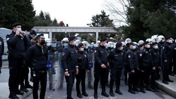 Boğaziçi Üniversitesi-polis - Sputnik Türkiye