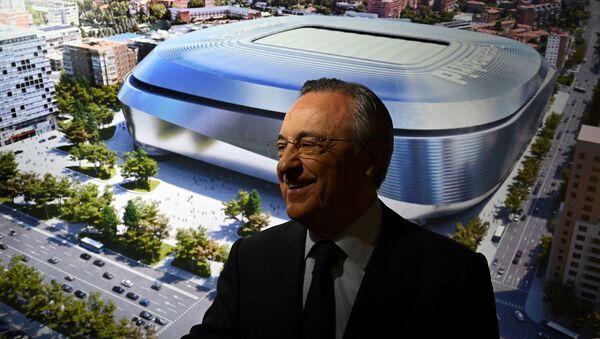 Real Madrid Başkanı Florentino Perez - Sputnik Türkiye