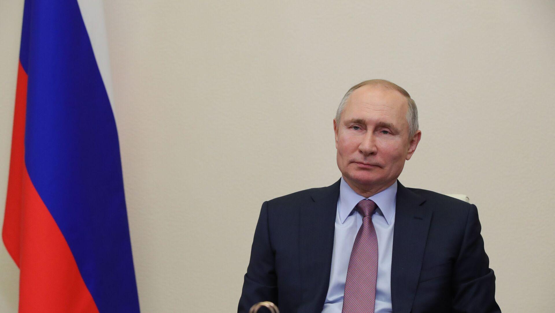 Vladimir Putin - Sputnik Türkiye, 1920, 02.02.2021
