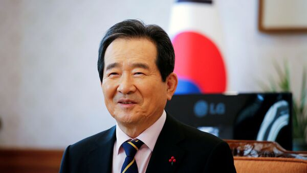 Chung Sye-kyun, Güney Kore Başbakanı - Sputnik Türkiye