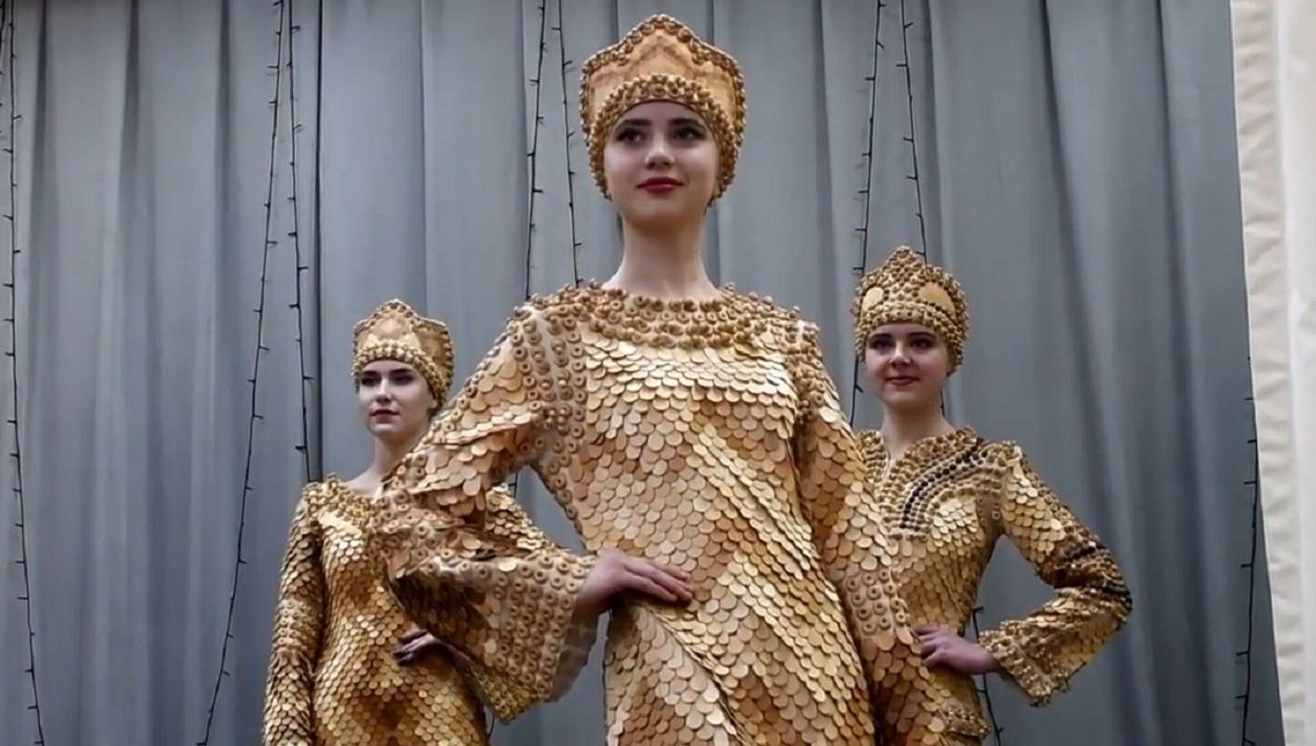 Sibirya'da sedir çamından kıyafetler yapıyorlar - Sputnik Türkiye, 1920, 05.02.2021