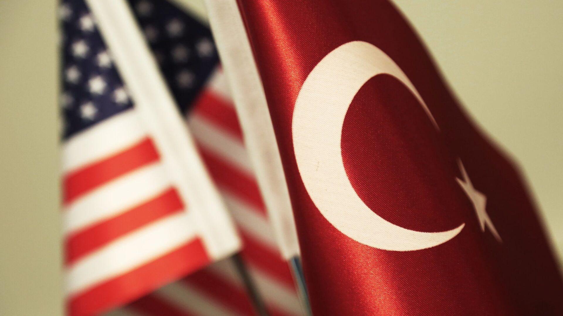 ABD Türkiye bayrakları - Sputnik Türkiye, 1920, 22.02.2021