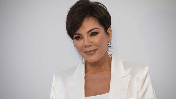 Kris Jenner poses for photographers upon arrival at the amfAR, Cinema Against AIDS, benefit at the Hotel du Cap-Eden-Roc, during the 72nd international Cannes film festival, in Cap d'Antibes, southern France, Thursday, May 23, 2019 - Sputnik Türkiye