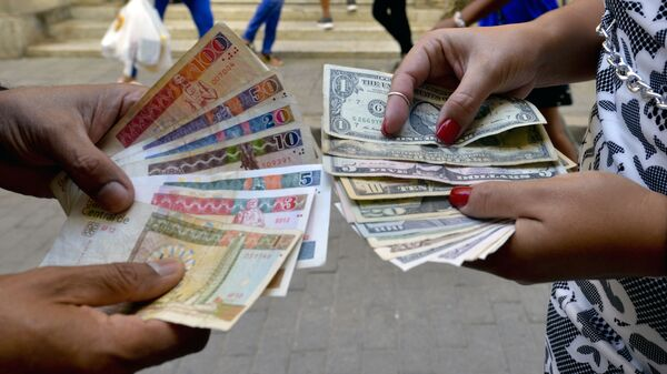 Küba- Ekonomi- Dolar - Sputnik Türkiye