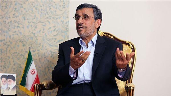 Eski İran Cumhurbaşkanı Ahmedinejad: Toplumdaki memnuniyetsizlik hiç olmadığı kadar fazla. - Sputnik Türkiye