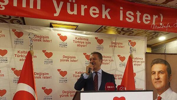 Türkiye Değişim Partisi (TDP) Genel Başkanı Mustafa Sarıgül - Sputnik Türkiye
