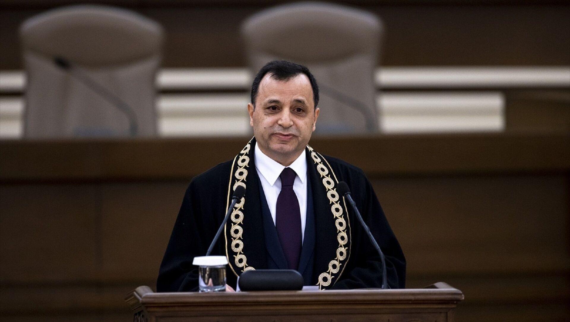 Anayasa Mahkemesi Başkanı Zühtü Arslan - Sputnik Türkiye, 1920, 28.06.2021