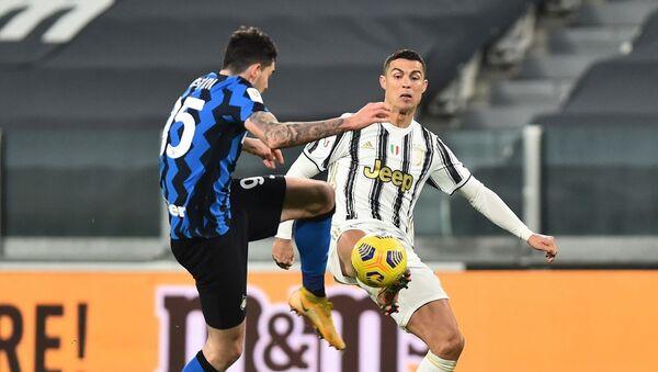 İtalya Kupası - Juventus - Inter - Sputnik Türkiye