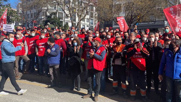 Maltepe Belediyesi'ne grev kararı asıldı: Toplu iş sözleşmesi görüşmelerinden sonuç çıkmadı - Sputnik Türkiye