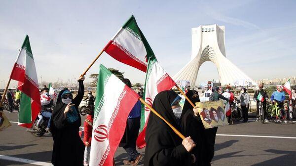 İran'da İslam Devrimi'nin 42. yıldönümü kutlanıyor. - Sputnik Türkiye