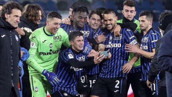 Atalanta - Napoli - İtalya Kupası - Sputnik Türkiye
