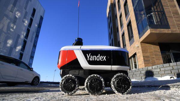 Yandex'in robot kuryesi - Sputnik Türkiye