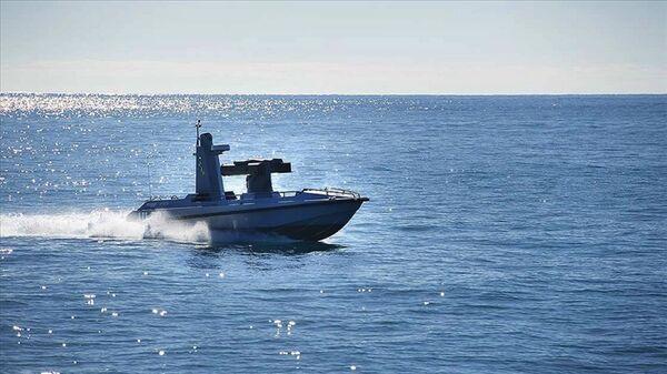 Türkiye'nin ilk silahlı deniz aracı ULAQ - Sputnik Türkiye