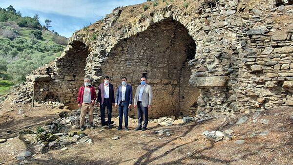Nazilli'de Kolezyum benzeri 1800 yıllık antik dövüş alanı keşfi - Sputnik Türkiye