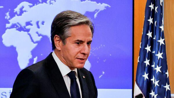 ABD Dışişleri Bakanı Antony Blinken - Sputnik Türkiye